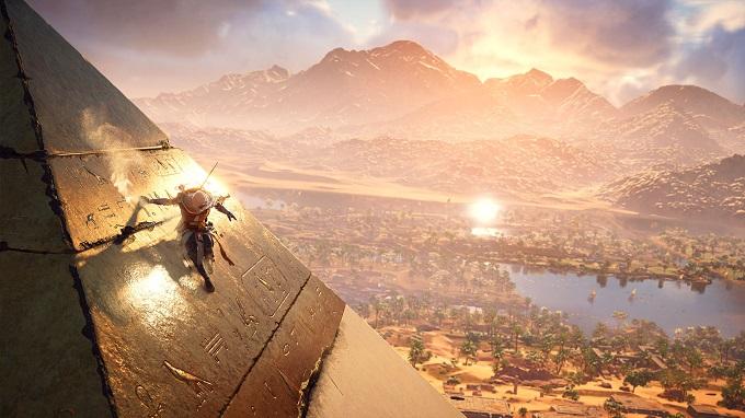 Il fascino dell'antico Egitto di Assassin's Creed Origins.