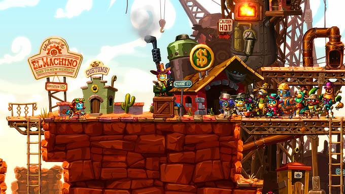 Pronti per una nuova avventura con Steamworld Dig 2?