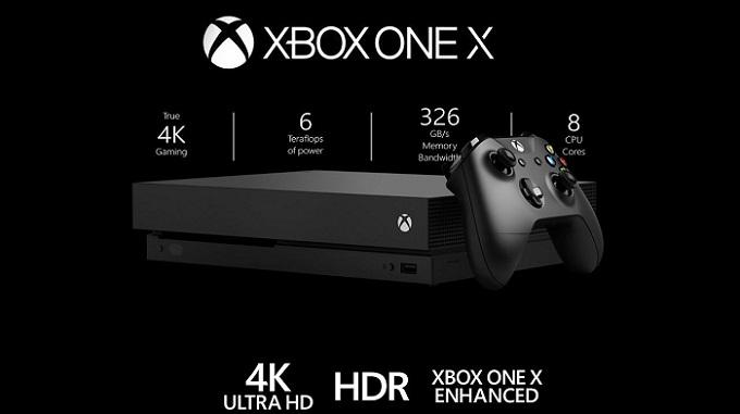 Ecco le caratteristiche tecniche di Xbox One X.
