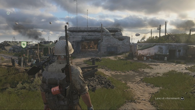La hub sociale sbarca su Call of Duty WW2 !