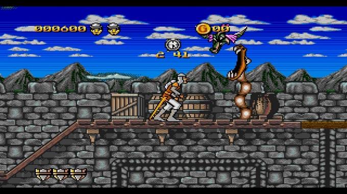 Dragon's Lair venne rilasciato anche per NES con una versione dedicata.