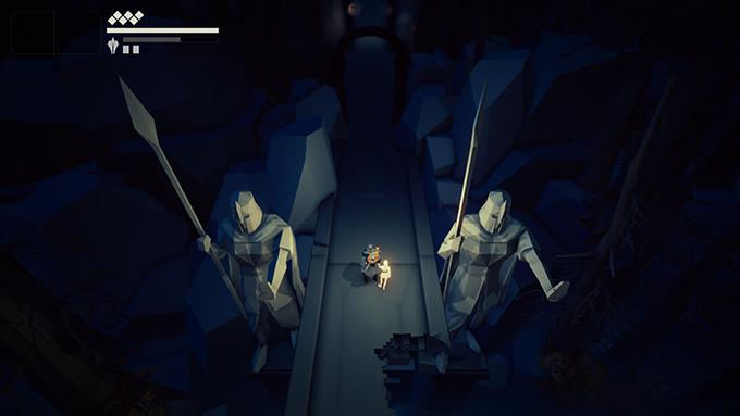 Fall of Light poggia le sue basi sullo Unity Engine