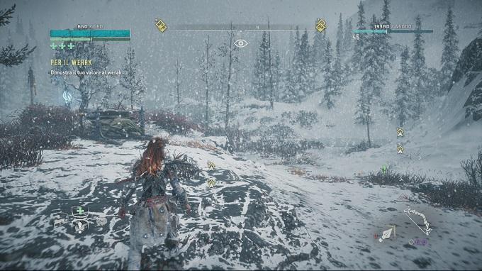 La terra dei Banuk è la nuova ambientazione proposta da Horizon Zero Dawn: The Frozen Wilds.