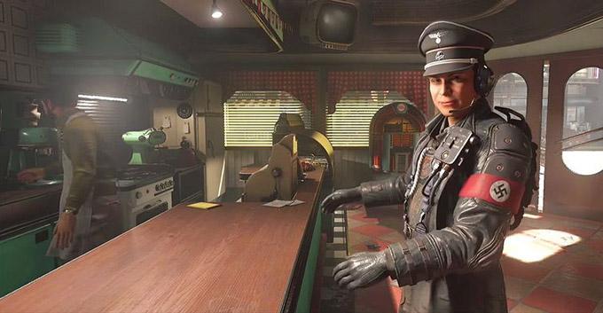 Uccidere nazisti sarà un passatempo che, in Wolfenstein II, difficilmente verrà a noia