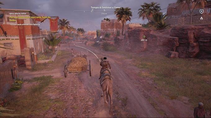 Cammello o cavallo per gli spostamenti nel mondo di Assassin's Creed Origins?