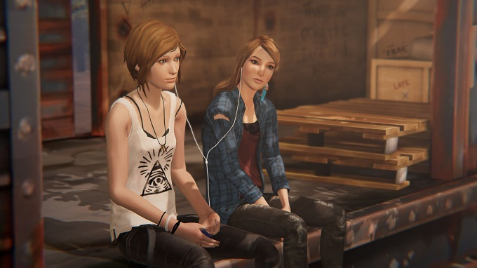 Chloe Price e Rachel Amber in Life is Strange: Before the Storm