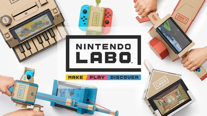 Nintendo annuncia Nintendo Labo, una nuova esperienza interattiva per Switch.