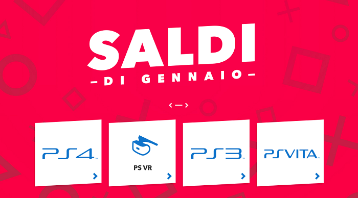 Sconti PlayStation Store di Gennaio 2018.