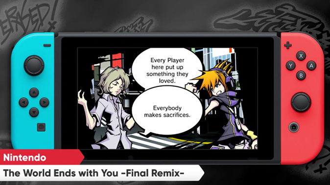 In The World Ends With You, sarà vostro compito salvare il mondo