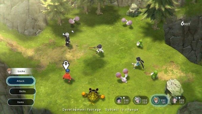 Il combat system di Lost Sphear
