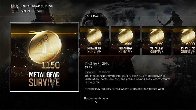 Metal Gear Survive è infine arrivato nei negozi