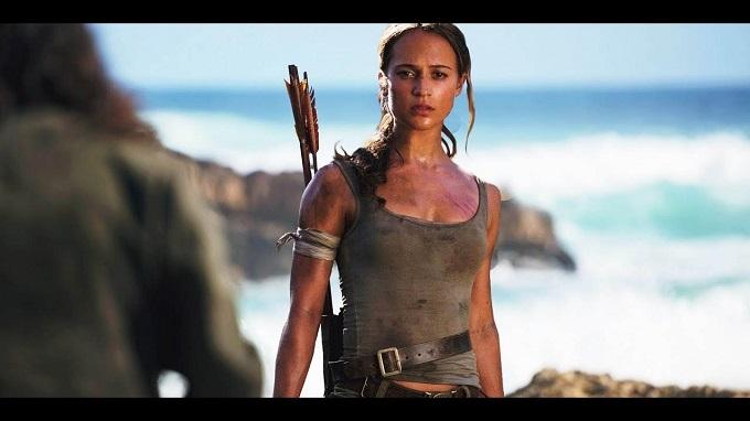 Alicia Vikander si è calata benissimo nella parte della inesperta Lara Croft!