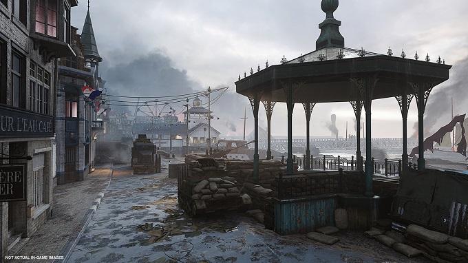 Ecco Dunkirk, una delle mappe di The War Machine.