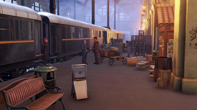 The Raven Remastered - il treno