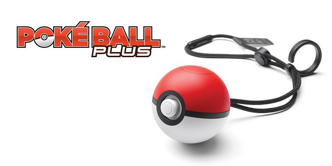 Pokè Ball Plus - Accessorio Pokémon Let's Go Pikachu e Let's Go Eevee