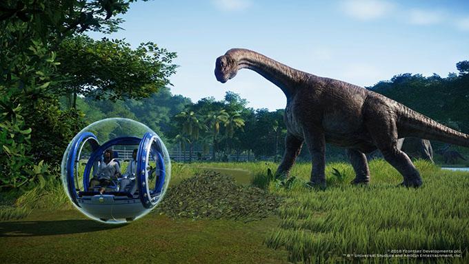 Jurassic World Evolution giungerà nel corso del mese