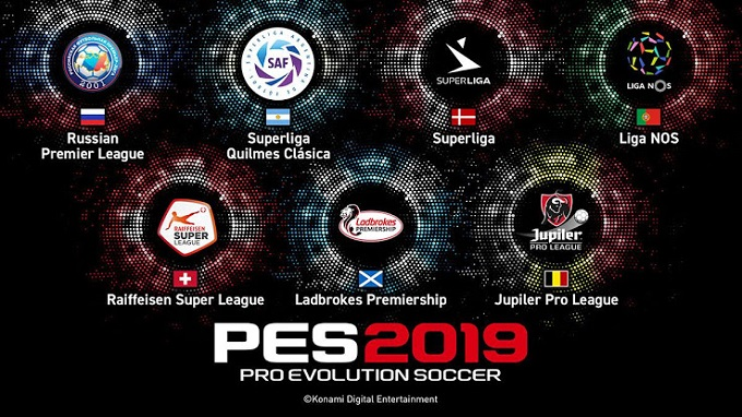 PES 2019 - Nuove leghe