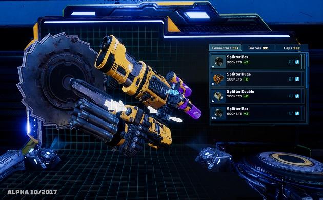 Il titolo fa giocoforza sulle numerose opzioni nella creazione di armamentari ben variegati.