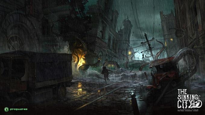Le presenza sovrannaturali infestano la città di The Sinking City.