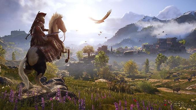 L'accesissimo scontro tra spartani e ateniesi in Assassin's Creed Odyssey.