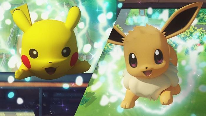 Pokémon Let'sGo Pikachu & Eevee
