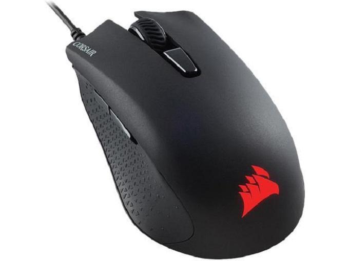 Il Corsair Harpoon è il mouse più economico di Corsair.