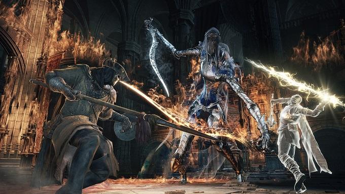 La fatica in Dark Souls 3 è rappresentata dall'indicatore della stamina.