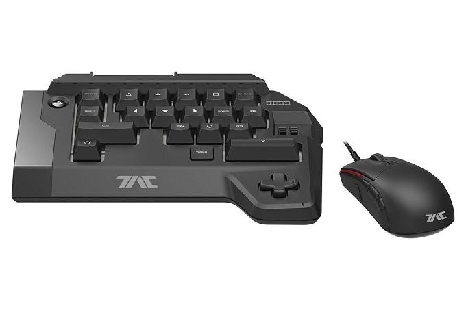Hori Tactical Assault Commander TAC FOUR è una piccola tastiera gaming per PS4, provvista di un mouse gaming.