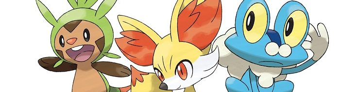 I pokemon starter di Pokemon X e Pokemon Y.