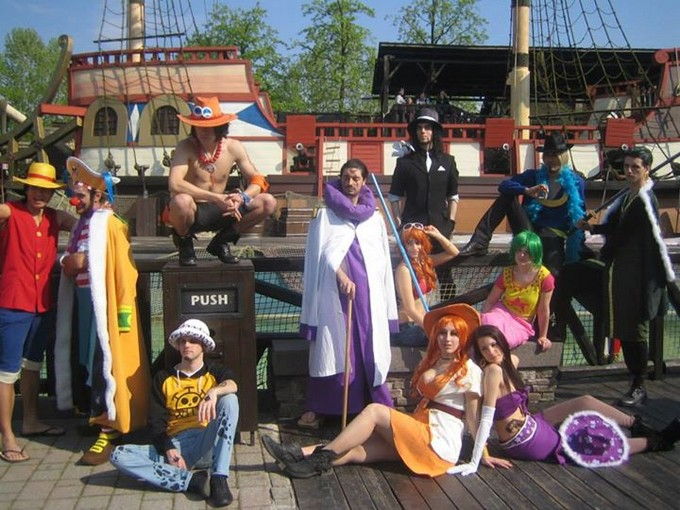 Gardaland in cosplay 2015