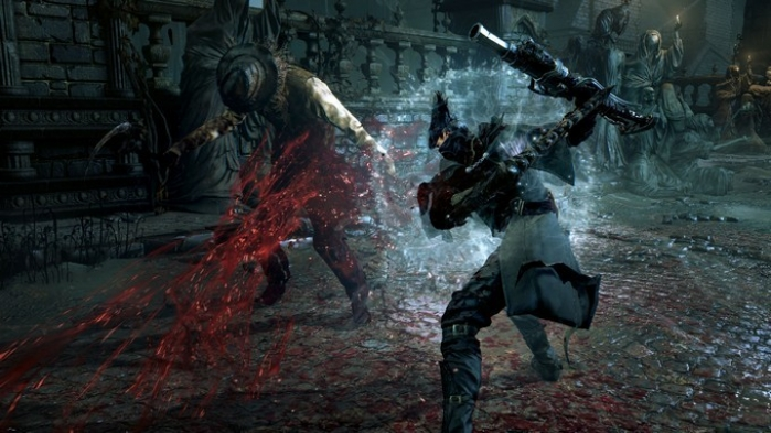 Bloodborne ps4 hand's on provato