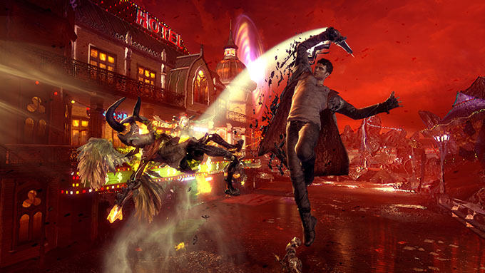 DMC Devil May Cry Definitive Edition - gamplay