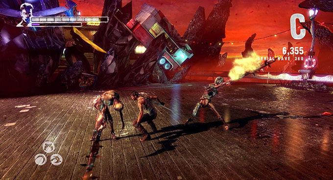DMC Devil May Cry Definitive Edition - Combo