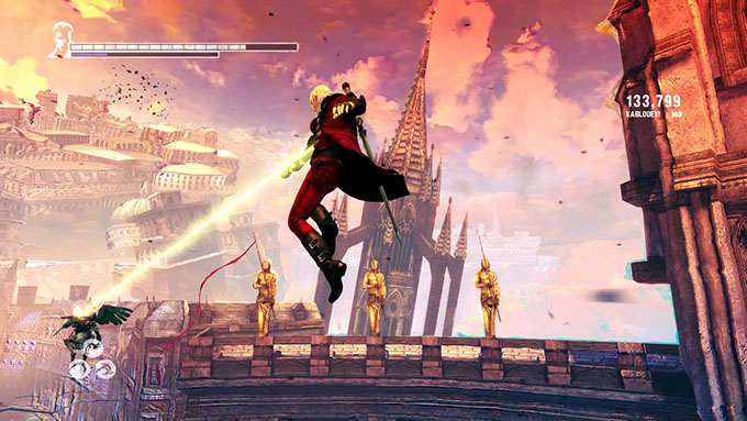 DMC Devil May Cry Definitive Edition - gameplay