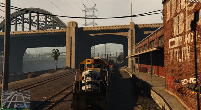 Grand Theft Auto V - Treni guidabili