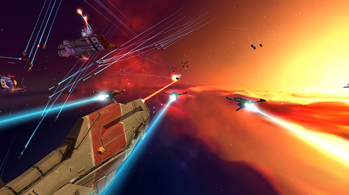 Homeworld Collection Remastered - Combattimento