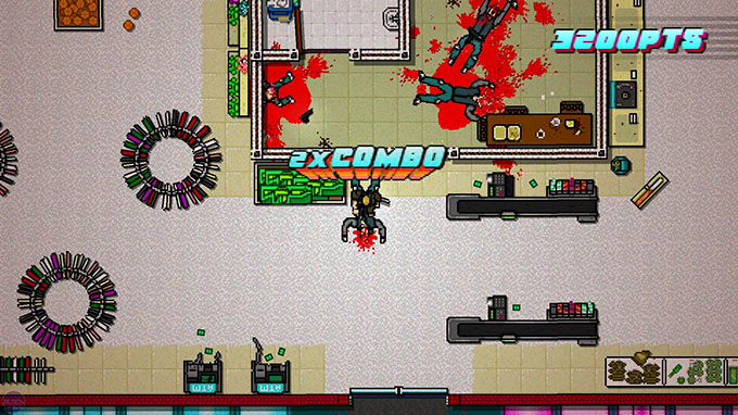 Hotline Miami 2: Wrong Number - Fase di gioco