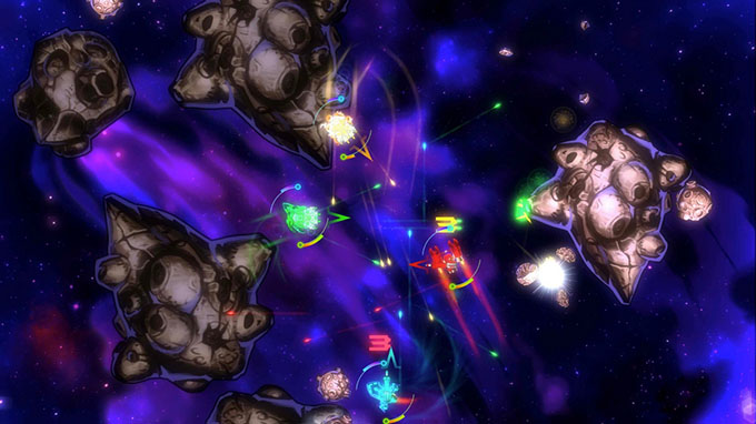 In Space We Brawl recensione