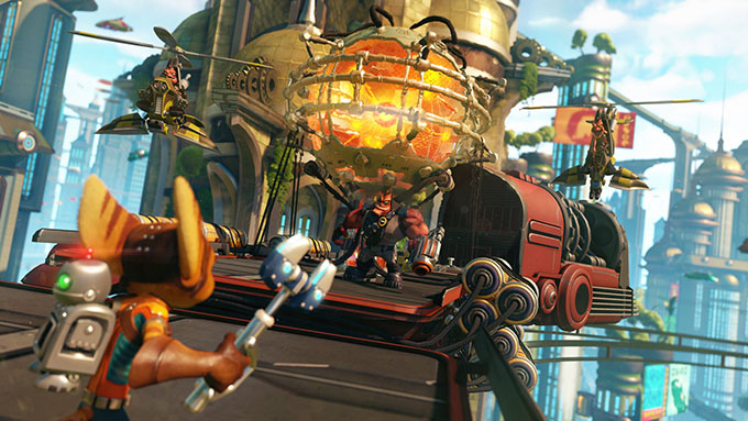 Ratchet and Clank - Gameplay