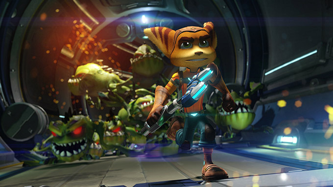 Ratchet and Clank - Gioco