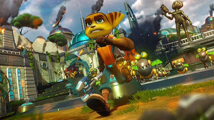 Ratchet and Clank - Protagonista
