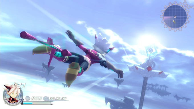 Rodea: the Sky Soldier - Protagonista