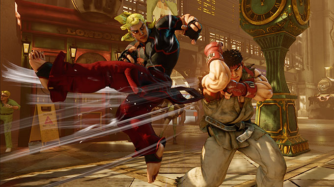 Street Fighter V - Gameplay