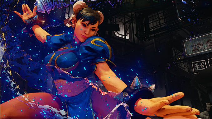 Street Fighter V - Mossa