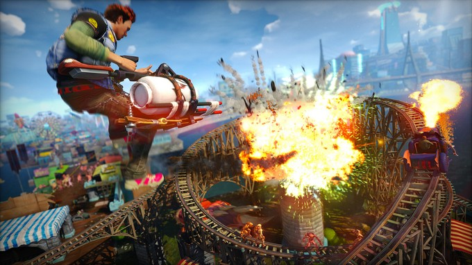 sunset overdrive best game 2014 top