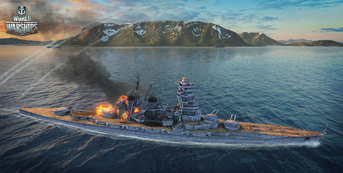 World of Warships - Gameplay
