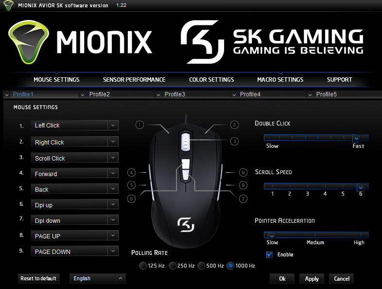 Mionix Avior SK Gaming Mouse Recensione