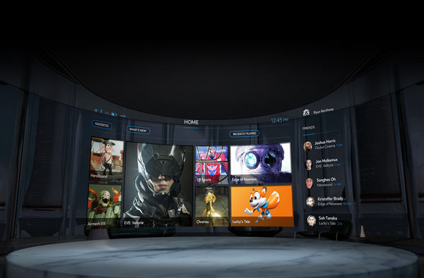 Oculus Home: uno store in 3D