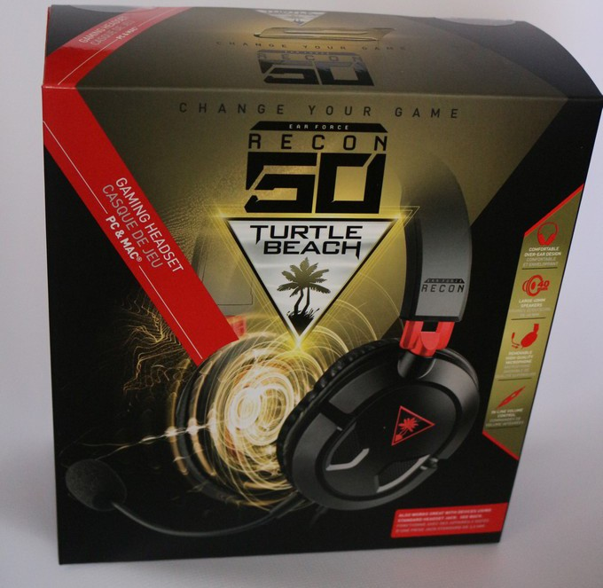 Turtle Beach Recon 50 PC Recensione